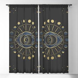 The Third Eye or The Sixth Chakra Blackout Curtain