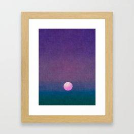 Gradient Sky #1 Framed Art Print