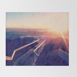 Tasmanian Sunrise Throw Blanket