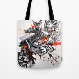 Organic Geometry Tote Bag