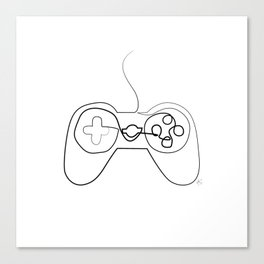 """ Gaming Collection "" - Gaming Console Gamepad Canvas Print"