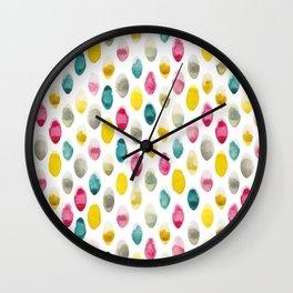 jewel drops Wall Clock