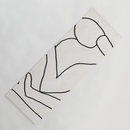 Abstract line art 2 Yoga Mat