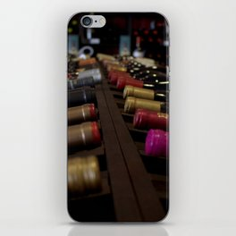 Wine Bottles iPhone Skin