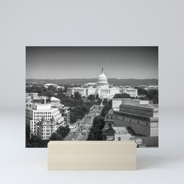 United States Capital Building in Washington, DC Mini Art Print