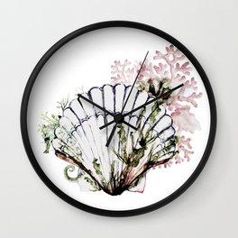 Pink See-through fantasia Wall Clock