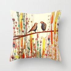 les gypsies Throw Pillow
