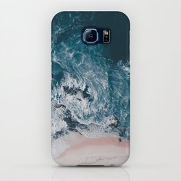 I love the sea - written on the beach iPhone Case