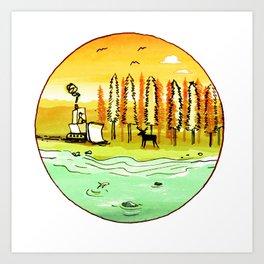 Nature v2 Art Print