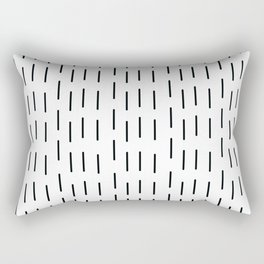 Rain that is falling on you constantly Rectangular Pillow