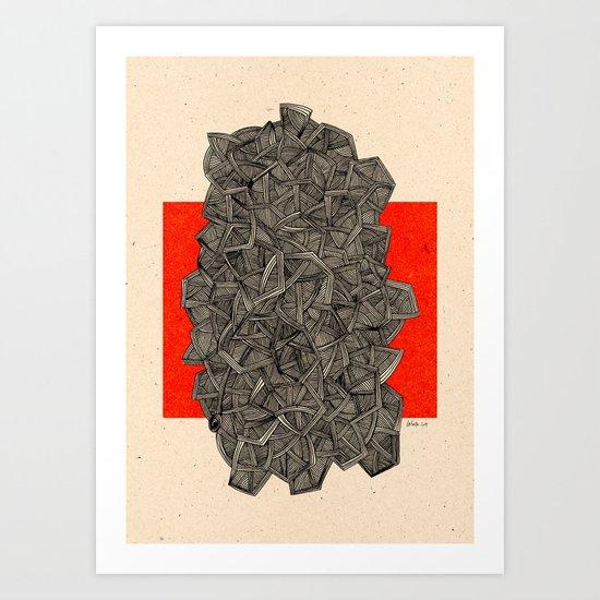 - metro - Art Print