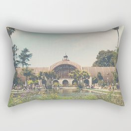 the botanical building in Balboa Park, San Diego Rectangular Pillow