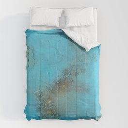 Earth. Texture. Blue. Jodilynpaintings. Brown. Abstract. Earths Crust. Comforters