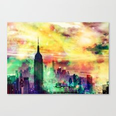 New York Fantasy Canvas Print