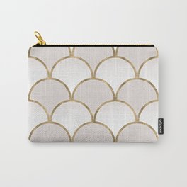 Golden Chinese Pattern Carry-All Pouch