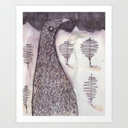 Bird (2009) Art Print