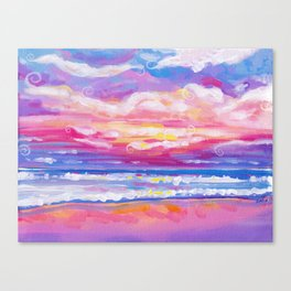 mornings in rodanthe Canvas Print