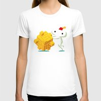 katamari T-shirts featuring The Prince with a FEZ by MeleeNinja