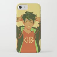 viria iPhone & iPod Cases featuring percy by viria