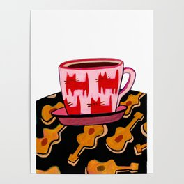 a cup of calmness .. Poster