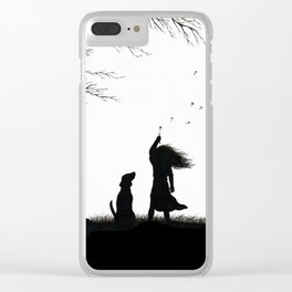 In the Wind Clear iPhone Case