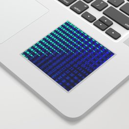 Blue in Shadows Sticker