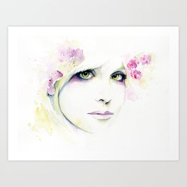 (LOVE) Courtney Art Print