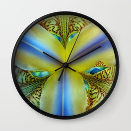 Inside of an Iris Wall Clock