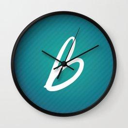 Les Recettes du bonheur texture Wall Clock