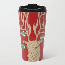 Fabulous Rudolph Metal Travel Mug