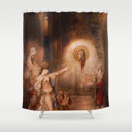 Vivid Retro - The Apparition Shower Curtain
