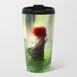 Merida The Brave - Portrait Merida Walking Travel Mug