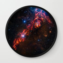 Cosmic Couds in the Orion Nebula Wall Clock