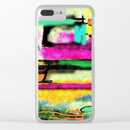 Valuable time Clear iPhone Case