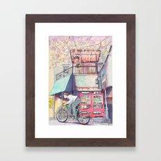 Bicycle Boy 02 Framed Art Print