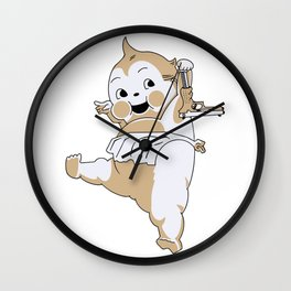 By Any Means Necessary Wall Clock