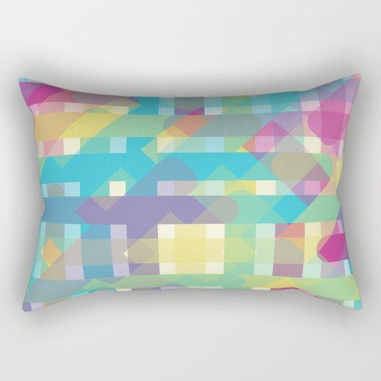 Interceptions Rectangular Pillow
