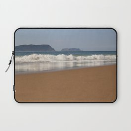 Crescent Bay, looking out to Tasman Island Laptop Sleeve