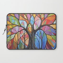 Abstract Art Landscape Original Painting ... Colors of the Wind Laptop Sleeve