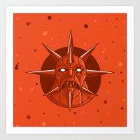 Mon Star Art Print
