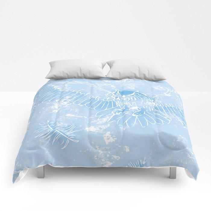 A Mild Breeze (Sky Blue) Comforters