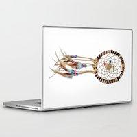 dreamcatcher Laptop & iPad Skins featuring Dreamcatcher by Bruce Stanfield