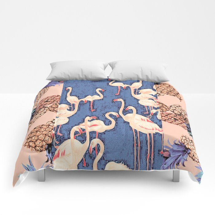 Combination with Pineapple  Comforters