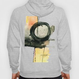 Enso Abstraction No. 107 by Kathy Morton Stanion Hoody