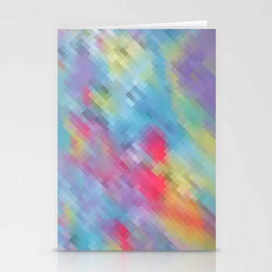Wrinkle Pixel Stationery Cards