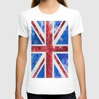 union jack T-shirts featuring Union Jack by LebensART