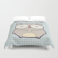 hamster Duvet Covers featuring Hamster by Mr and Mrs Quirynen