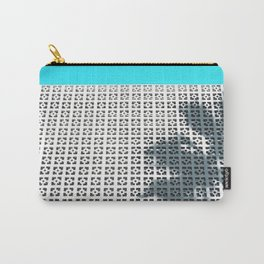 Parker Palm Springs with Palm Tree Shadow Carry-All Pouch