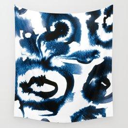 Evil Eye Indigo Wall Tapestry