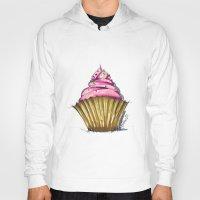 cupcake Hoodies featuring Cupcake by Svitlana M